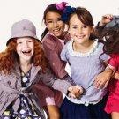 Children Girl Dress Summer Pleated Chiffon One-Piece Dress Round neck