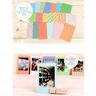 60 PCS Retro Color Instant Films Sticker For FujiFilm Instax Mini 8 7s 25 50s