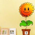 3D Cartoon Wallpaper Lamp Wall Sticker Removable Wall Lamp Flower