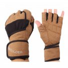 Wristbands Sports Fitness Half Finger Training Weightlifting Gloves S