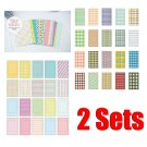 40 Sheets 2 Styles Instant Films Sticker For FujiFilm Instax Mini 8 7s 25 50s #2