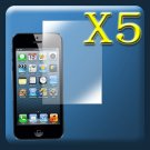 5pcs Diamond LCD Screen Protector Guard Film For iPhone 5 5th Gen