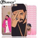 Drake Capinhas Para For Iphone 6s Cases Fashion Transparent PC Phone Bag