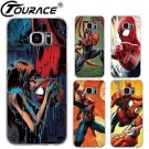 Marvel Spiderman For Samsung Galaxy s7 Case Hard Plastic Style Phone Bag Cove...