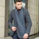 European Business Casual Men Scarves Long Thick Warm Neckerchief Modal Shawl ...
