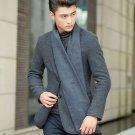 European Business Casual Men Scarves Long Thick Warm Neckerchief Modal Shawl ...