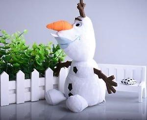 Cute Olaf Plush Kids Toys Kawaii 23cm Snowman Cartoon Plush Toys Doll Soft St...
