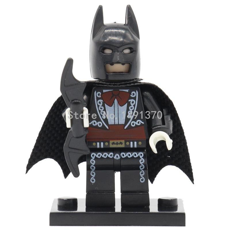 PG098 The Mariachi Batman Minifigures Superheroes Single Sale Movie 2017 DC S...