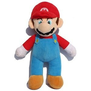 25cm 10inch Super Mario Bros Soft Plush MARIO LUIGI MARIO PLUSH DOLL For Chil...