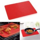 2016 new New Creative Useful Pan Silicone Non Stick Fat Reducing Mat Microwav...