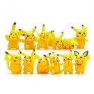 12pcs/lot Pikachu Figures Umbreon Espeon Glaceon Vaporeon Figure Toys 5cm Sof...
