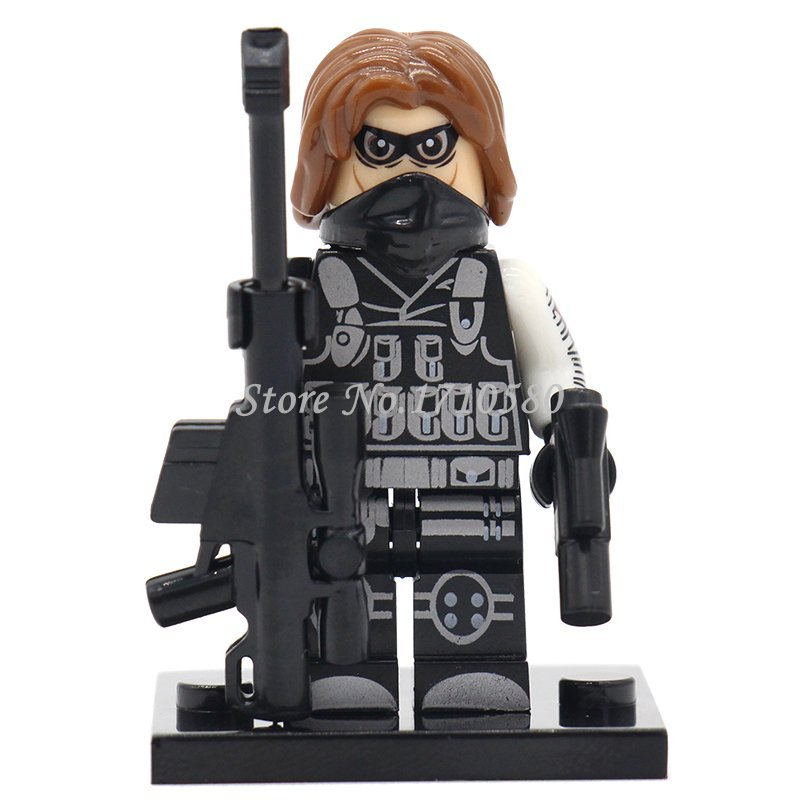 XINH 231 Winter Soldier Minifigures Single Sale Marvel SuperHeroes Avengers B...