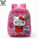 2016 High Quality Rose Red Hello Kitty Backpacks Plush Cartoon Toy Backpack G...