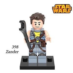 Building Blocks Zander Freemaker STAR WARS Rogue One SW754 Minifigure Snow Tr...