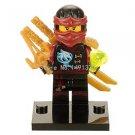 XINH 248 Gnea Ninja Minifigures Zane KAI Jay Cole Single Sale Building Blocks...