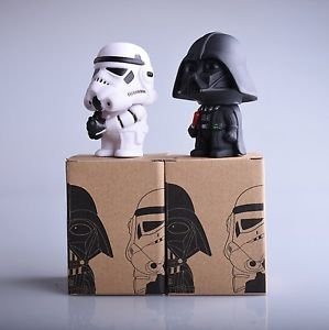 1pcs 11cm Star Wars figure The Force Awakens Darth Vader BB-8 R2D2 PVC Model ...