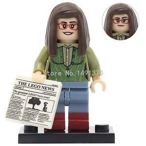 PG983 Amy THE BIG BANG Theory TV TBBT Minifigures Single Sale POGO Sheldon Co...
