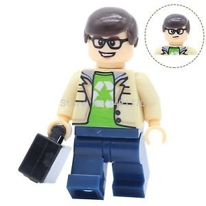 XINH 343 Leonard THE BIG BANG Theory TV TBBT Minifigures Single Sale POGO She...