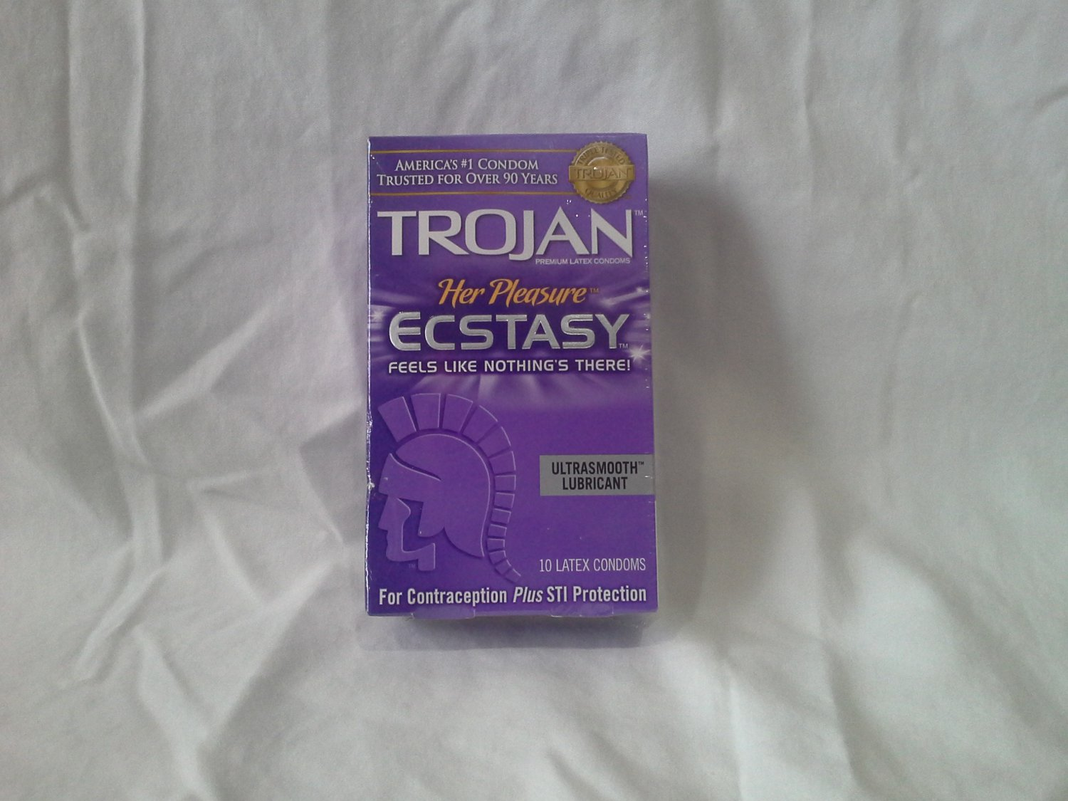 Trojan Ecstasy Condoms 10 pack