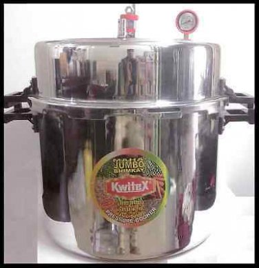 WORLD'S LARGEST JUMBO COMMERCIAL PRESSURE COOKER BIG/LARGE 108 LITER (114 Quart)