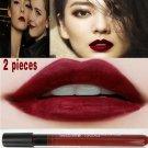 2pcs maquillage lipgloss makeup lipstick matte batom lip tint tattoo mate