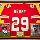 Premium Framed Eric Berry Autographed Kansas City Chiefs Jersey JSA COA