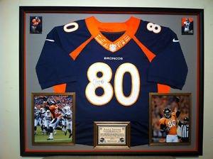 Premium Framed Julius Thomas Autographed / Signed Nike Elite Broncos Jersey JSA COA