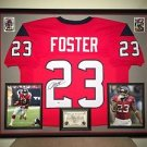Premium Framed Arian Foster Autographed Houston Texans Jersey Signed PSA/DNA COA