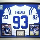 Premium Framed Dwight Freeney Autographed Colts Nike Elite Jersey Signed JSA COA