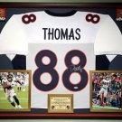 Premium Framed Demaryius Thomas Signed Denver Broncos Jersey - PSA COA