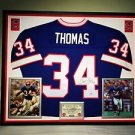 Premium Framed Thurman Thomas Signed Buffalo Bills Mitchell & Ness Jersey PSA