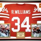 Premium Framed Ricky Williams Autographed Texas Longhorns Jersey Tristar COA
