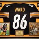 Premium Framed Hines Ward Autographed Pittsburgh Steelers Jersey - JSA COA