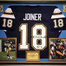 Premium Framed Charlie Joiner Autographed San Diego Chargers Jersey - JSA COA