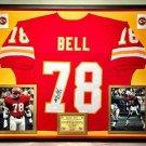 Premium Framed Bobby Bell Autographed Kansas City Chiefs Jersey - JSA COA