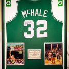 Premium Framed Kevin McHale Signed Boston Celtics Jersey - JSA COA