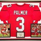 Premium Framed Carson Palmer Autographed Arizona Cardinals Jersey - GA COA