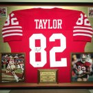Premium Framed John Taylor Autographed 49ers Jersey - GTSM Official COA