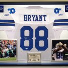 Premium Framed Dez Bryant Autographed Dallas Cowboys Official Reebok Jersey Signed - JSA COA