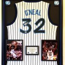Premium Framed Shaquille O'neal Autographed Orlando Magic Nike Jersey - PSA - Shaq Oneal