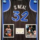 Premium Framed Shaquille O'Neal Autographed Orlando Magic Jersey - JSA COA - Shaq Oneal
