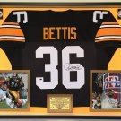 Premium Framed Jerome Bettis Autographed Pittsburgh Steelers Jersey - PAAS COA