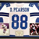 Premium Framed Drew Pearson Autographed Dallas Cowboys Jersey - JSA COA