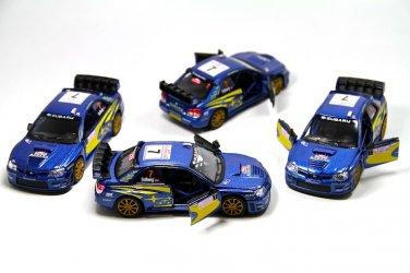 Subaru Impreza WRC 2007 1:36 scale Kinsmart diecast car model