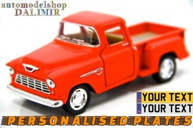1955 Chevy Stepside Pick-Up 1/32 Red Kinsmart diecast car model