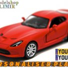 2013 SRT Viper GTS 1:32 scale Kinsmart diecast car model
