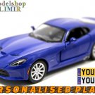 2013 SRT Viper GTS 1:32 scale Kinsmart diecast car model