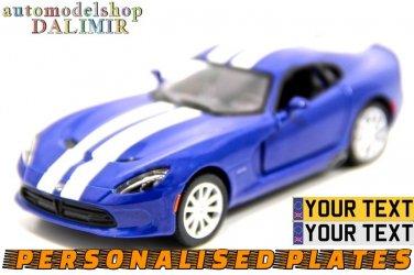 2013 SRT Viper GTS w/ printing 1:32 scale Kinsmart diecast car model