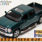 2014 Chevrolet Silverado green color Kinsmart diecast car model