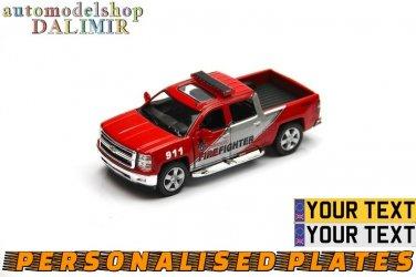 2014 Chevrolet Silverado Firefighter Kinsmart diecast car model